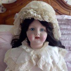 Muñeca española clasica: MUÑECA PORCELANA Y CARTON PIEDRA ESCULTOR RAMON INGLES. Lote 203927360