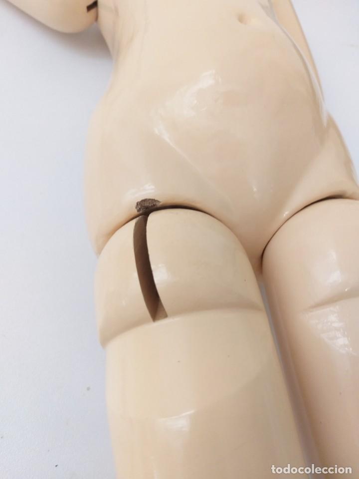 Muñeca española clasica: CUERPO FRANCÉS DE MADERA PARA RESTAURACIÓN DE MUÑECAS ANTIGUAS O REPRODUCCIÓN - Foto 4 - 148316490