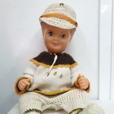 Muñeca española clasica: MUÑECO ANTIGUO. Lote 204242963