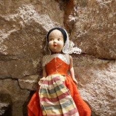 Muñeca española clasica: ANTIGUA MUÑECA DE TRAPO CON BRAZOS DE CELULOIDE. Lote 204249580