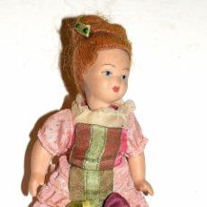 Muñeca española clasica: ANTIGUA MUÑECA EN PORCELANA. Lote 204428968
