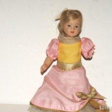 Muñeca española clasica: ANTIGUA MUÑECA EN PORCELANA. Lote 204429451