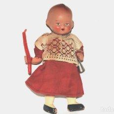 Muñeca española clasica: ANTIGUO MUÑECO MONAGUILLO EN TERRACOTA. Lote 204429626