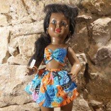 Muñeca española clasica: ANTIGUA MUÑECA VIVIANA HAWAIANA CON LA ETIQUETA ORIGINAL. Lote 204648702