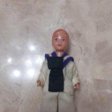 Muñeca española clasica: MUÑEQUITO DE TARTA DE COMUNION AÑOS 60. Lote 205003843