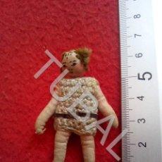 Muñeca española clasica: TUBAL MUÑECA ANTIGUA DE TRAPO CJ1. Lote 205166647