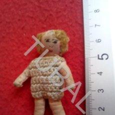 Muñeca española clasica: TUBAL MUÑECA ANTIGUA DE TRAPO CJ1. Lote 205166791