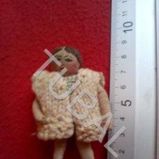 Muñeca española clasica: TUBAL MUÑECA ANTIGUA DE TRAPO CJ1. Lote 205166871