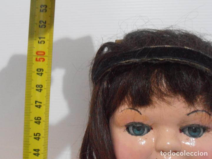 Muñeca española clasica: ANTIGUA MUÑECA ESPAÑOLA, TULSA ANDADORA DE SERAFIN VICENT CALVO, AÑOS 50 - Foto 5 - 205177897