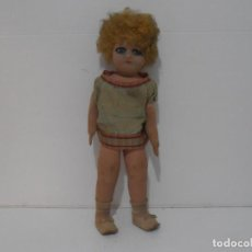 Muñeca española clasica: ANTIGUA MUÑECA ESPAÑOLA, ARTICULADA, DE TELA, FLORIDO AÑOS 30, CAJA. Lote 205179581