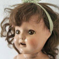 Muñeca española clasica: MUÑECA. COMPOSICIÓN. PELO NATURAL. MARCADA 20* EN LA ESPALDA. AÑOS 40. Lote 205814682
