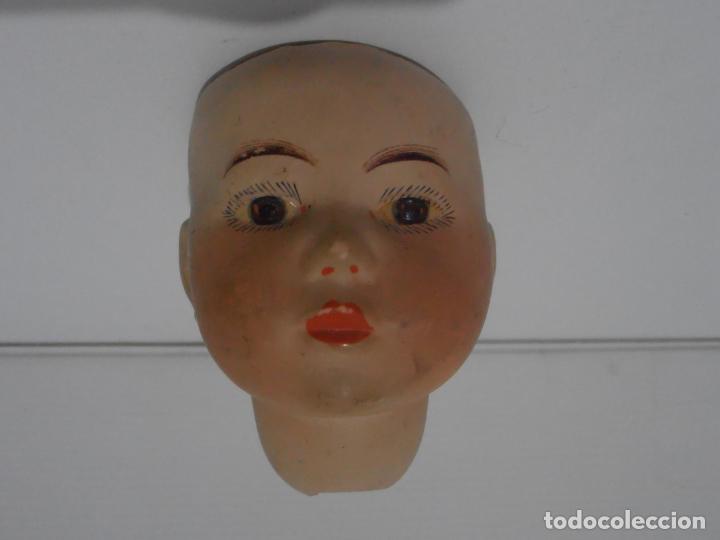 Muñeca española clasica: MUÑECA CABEZA PORCELANA MARCADA EN LA NUCA N 2 - Foto 4 - 206163628