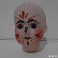 Muñeca española clasica: MUÑECA CABEZA PORCELANA PINTADA MARCADA EN LA NUCA 32. Lote 206164130