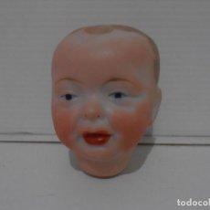 Muñeca española clasica: MUÑECA CABEZA PORCELANA SIN MARCA EN LA NUCA. Lote 206164385