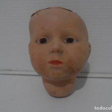 Muñeca española clasica: MUÑECA CABEZA PORCELANA MARCADA EN LA NUCA M 2 BARCELONA. Lote 206164562