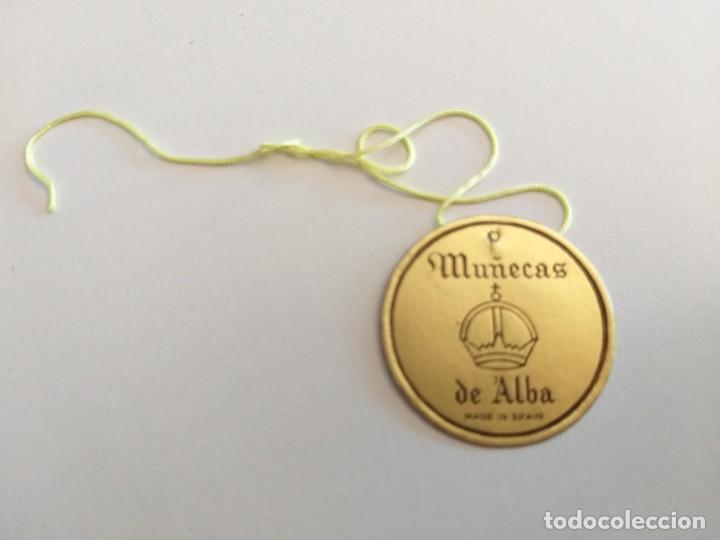 Muñeca española clasica: LINDA PIRULA VESTIDA DE VALENCIANA TIPO BOMBONERA CON ETIQUETA ORIGINAL - MUÑECAS ALBA - AÑOS 50 - Foto 14 - 205772442