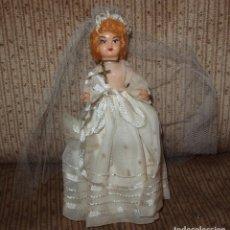 Muñeca española clasica: MUÑECA DE COMUNIÓN,CREACIONES ANTONIETA,FINALES AÑOS 50. Lote 206304753