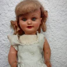Muñeca española clasica: MUÑECA ESPAÑOLA AÑOS 30 - 40 CELULOIDE CARTÓN-PIEDRA. Lote 206864522