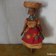 Muñeca española clasica: MUÑECA NEGRITA. Lote 207322116