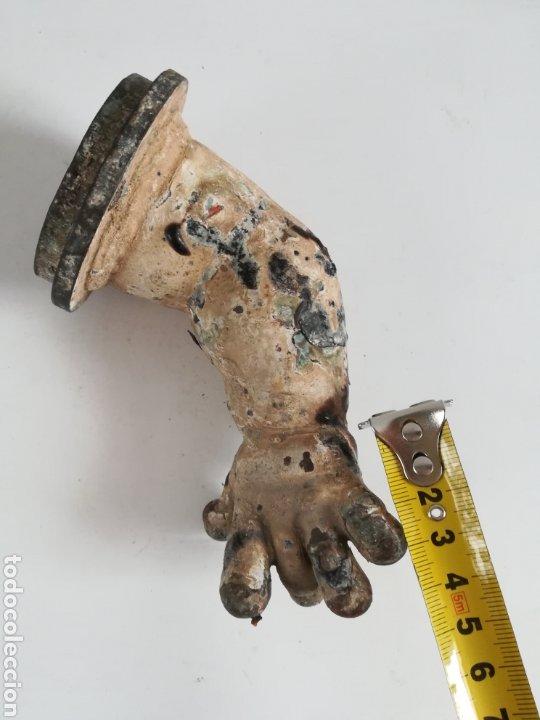 Muñeca española clasica: Antiguo molde para la fabricación de brazos de muñeca - Fundición Bronce Juguetería - Foto 28 - 207956345