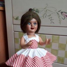 Muñeca española clasica: MUÑECA TERESIN. MARCADA EN LA NUCA. IMPECABLE. Lote 208245162