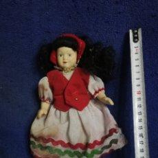 Muñeca española clasica: MUÑECA PORCELANA ANTIGUA. Lote 208350067