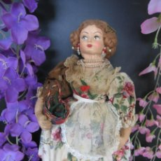 Muñeca española clasica: ANTIGUA MUÑECA PAGES VESTIDA DE VALENCIANA 32 CM.. Lote 208986030