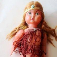 Muñeca española clasica: ANTIGUA MUÑECA DE CELULOIDE - ALTURA: 20 CM - MUY RARA. Lote 209056640