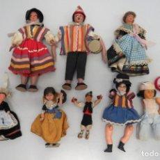 Muñeca española clasica: LOTE 8 MUÑECAS ANTIGUAS. Lote 209064848