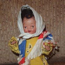 Muñeca española clasica: MUÑECA CASTIZA DE TERRACOTA,AÑOS 30. Lote 209302792