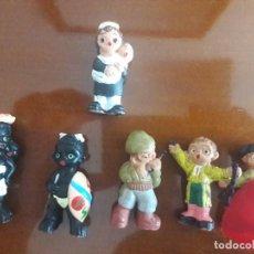 Muñeca española clasica: MUÑECOS BARRO TERRACOTA ALBOROX GRANADA. Lote 209879517