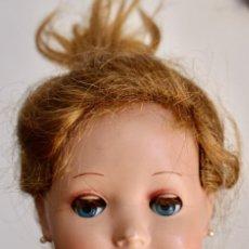 Muñeca española clasica: CABEZA DE MUÑECA, FUNCIONA LOS OJOS - 13 CM. Lote 211396274