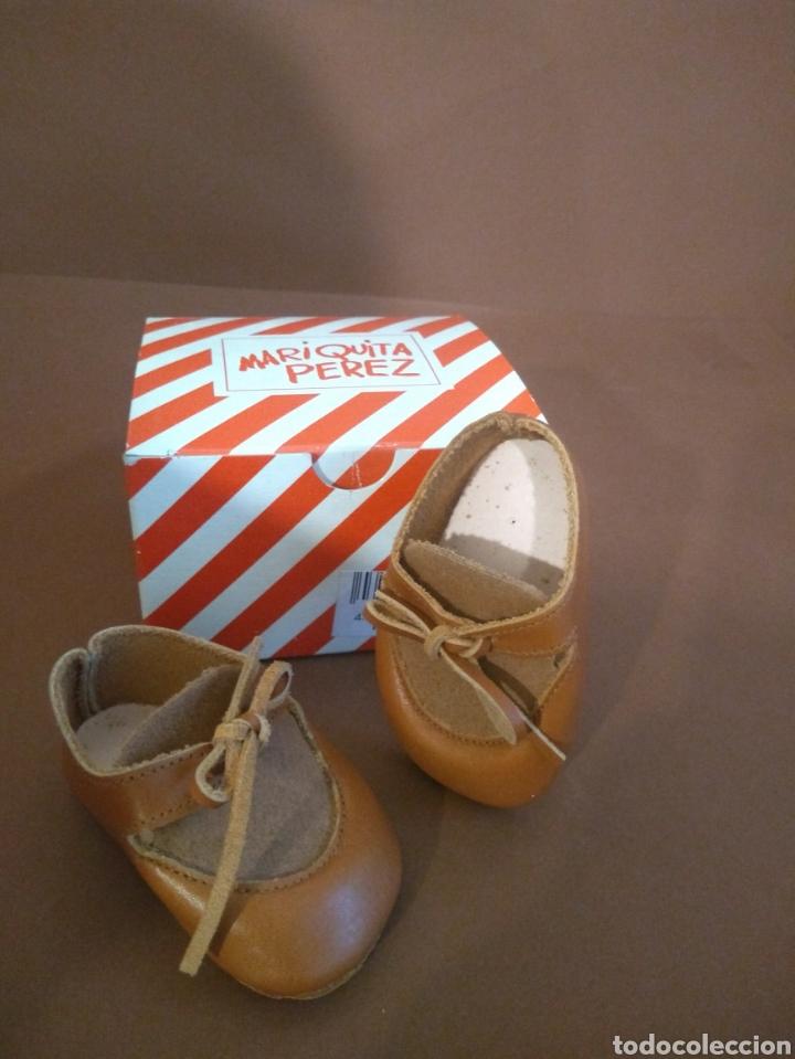 Muñeca española clasica: Zapato Ante/Piel Marrón Juanín Pérez - Foto 2 - 211925906