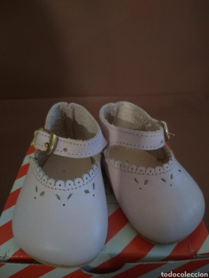 Muñeca española clasica: Zapato Merceditas Piel Rosa Mariquita Pérez - Foto 4 - 211926105