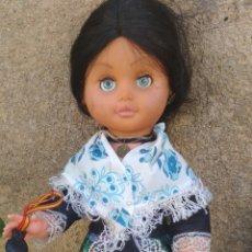 Muñeca española clasica: MUÑECA TRAJE REGIONAL.. Lote 212415063