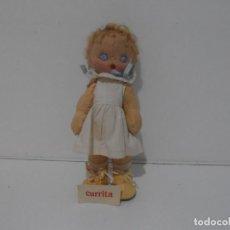 Muñeca española clasica: MUÑECA ESPAÑOLA FIELTRO CURRITA, BUEN ESTADO, AÑOS 40, TODO DE ORIGEN. Lote 212630867