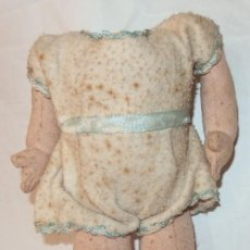 Muñeca española clasica: CUERPO DE MUÑECA DE TRAPO RELLENO,AÑOS 40 Ó 50. Lote 212667658