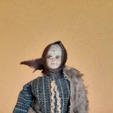 Muñeca española clasica: BONITA MUÑECA DE TELA PRENSASA ANTIGUA TIPO LENCI. Lote 212829743
