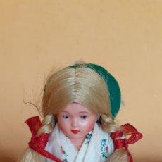 Muñeca española clasica: BONITA MUÑECA DE CELULOIDE ANTIGUA IDEAL CASA DE MUÑECAS. Lote 212830981