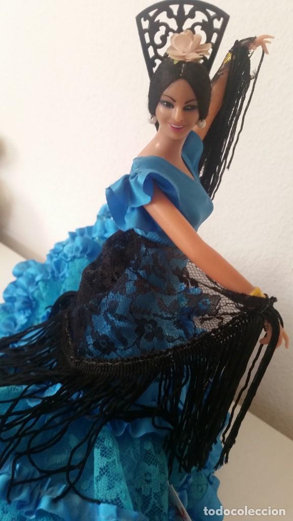 Muñeca española clasica: MONECA PARA COLECION SEVILLENA SELADA NA ITIQUETA CHICLANA CADIZ ESPANA FUNDADA EM 1928MAD ESPANA - Foto 7 - 212906265