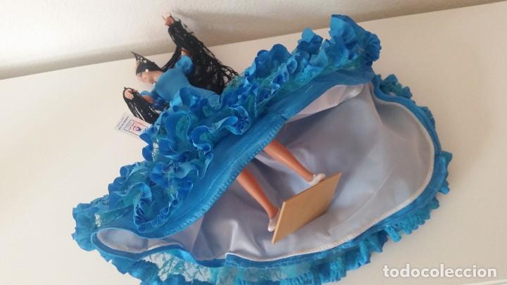 Muñeca española clasica: MONECA PARA COLECION SEVILLENA SELADA NA ITIQUETA CHICLANA CADIZ ESPANA FUNDADA EM 1928MAD ESPANA - Foto 10 - 212906265