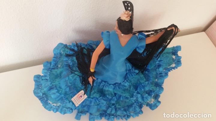 Muñeca española clasica: MONECA PARA COLECION SEVILLENA SELADA NA ITIQUETA CHICLANA CADIZ ESPANA FUNDADA EM 1928MAD ESPANA - Foto 11 - 212906265