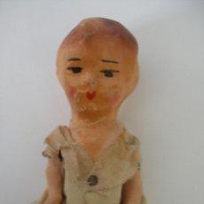 Muñeca española clasica: MUÑECA PEPONA CARTÓN PIEDRA AÑOS 30 - 40 SIN USO. Lote 213407843