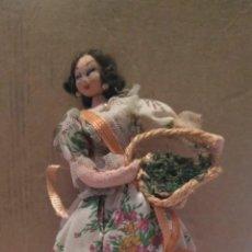 Muñeca española clasica: MUÑECA VALENCIANA FALLERA DE TRAPO.. Lote 213505337