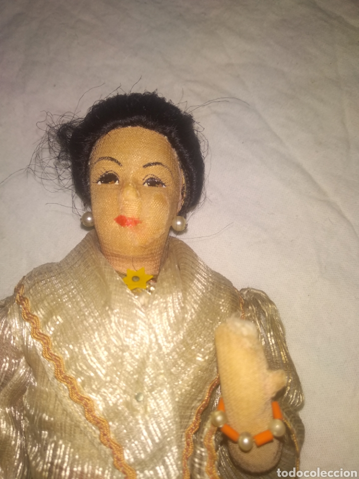 Muñeca española clasica: ANTIGUA MUÑECA MANIQUI SIGLO XIX PRINCIPIOS SIGLO XX - Foto 2 - 214277805