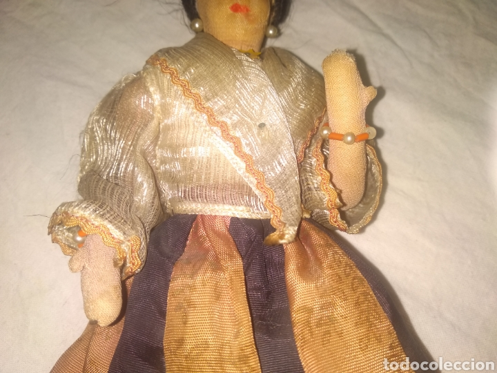 Muñeca española clasica: ANTIGUA MUÑECA MANIQUI SIGLO XIX PRINCIPIOS SIGLO XX - Foto 3 - 214277805