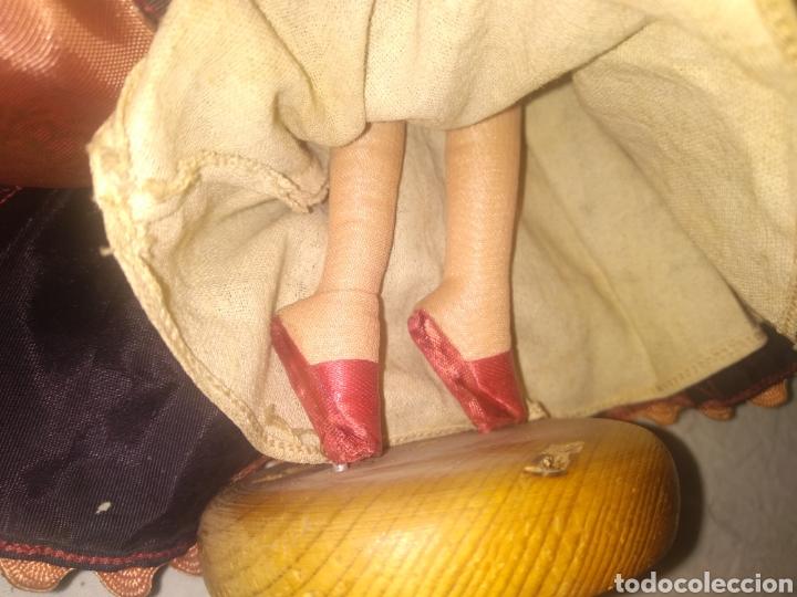 Muñeca española clasica: ANTIGUA MUÑECA MANIQUI SIGLO XIX PRINCIPIOS SIGLO XX - Foto 7 - 214277805
