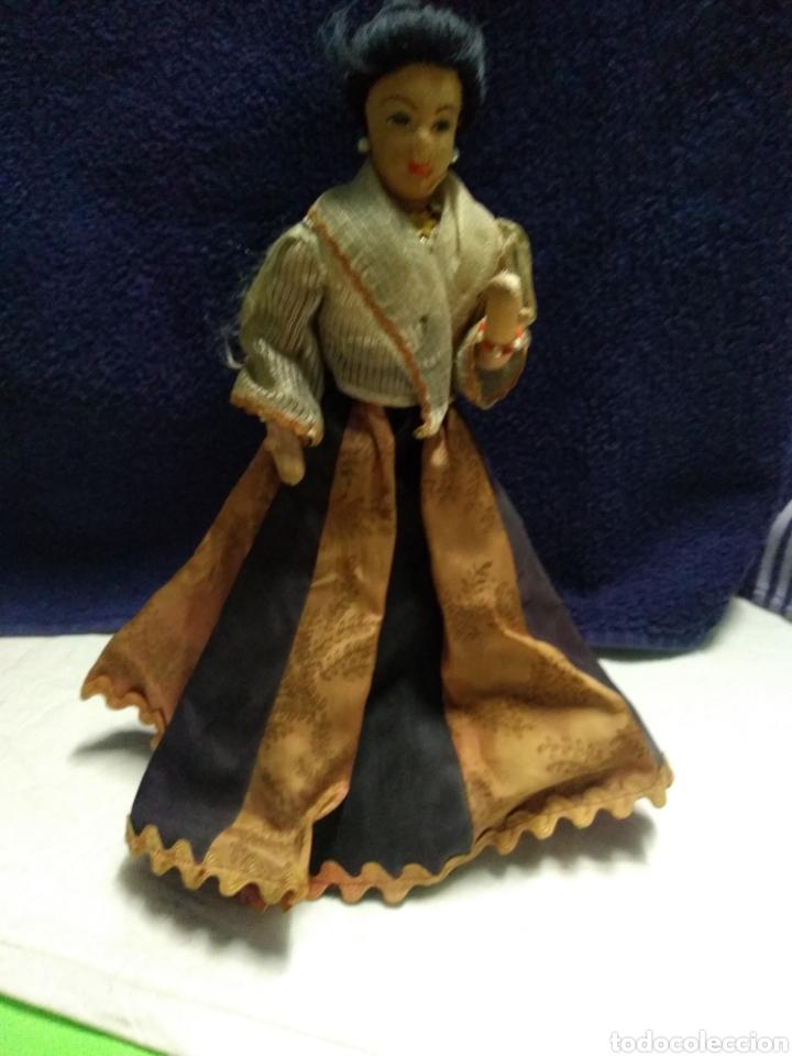 Muñeca española clasica: ANTIGUA MUÑECA MANIQUI SIGLO XIX PRINCIPIOS SIGLO XX - Foto 17 - 214277805