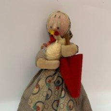 Muñeca española clasica: MUÑECA DE TRAPO DE MARÍA ROIG. Lote 215385678