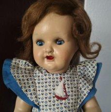 Muñeca española clasica: PRECIOSA MUÑECA DE FLORIDO MARIA ROSA ,CARTON PIEDRA AÑOS 50. Lote 215388886